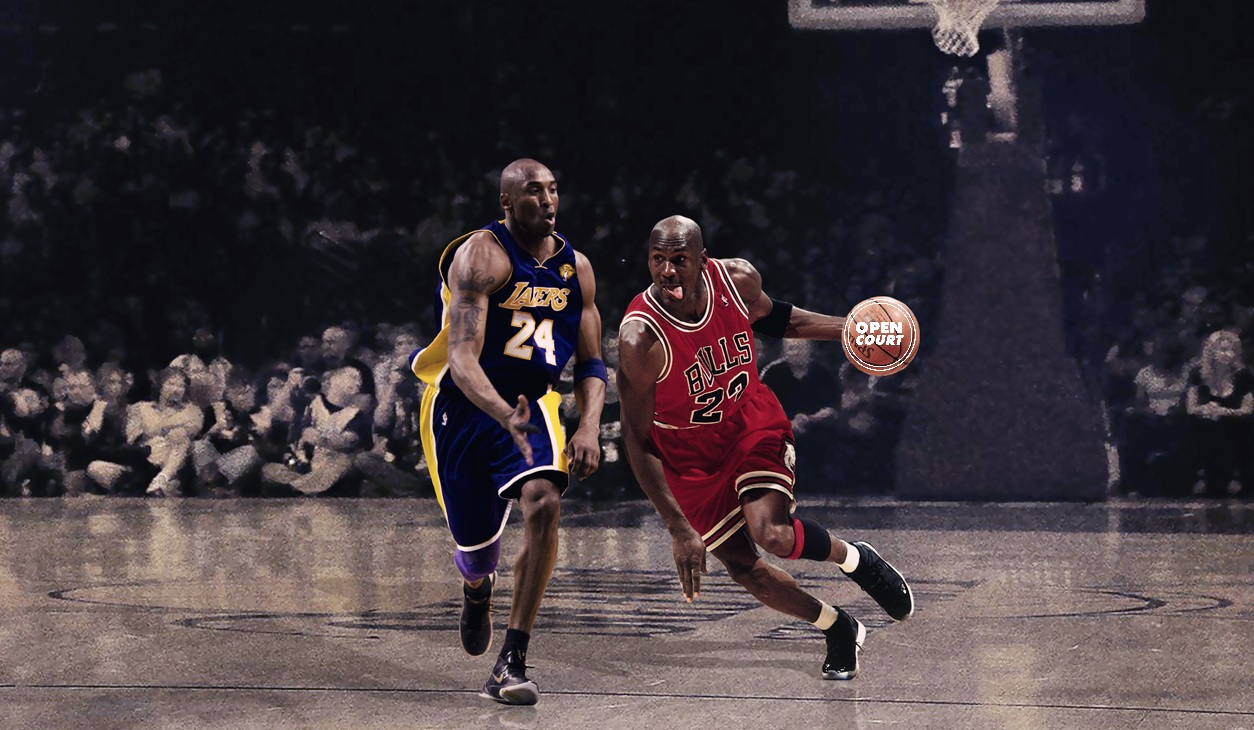 thesis michael jordan vs kobe bryant Kobe bryant vs michael jordan comparison kobe bryant and michael jordan are two of the greatest shooting guards in nba history although they played 8 games against one another, they were part of different eras, with jordan's career spanning 1984 – 2003 (with several periods of retirement between.