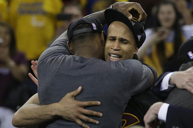 Richard Jefferson calls it quits after 15 seasons in the NBA. AP