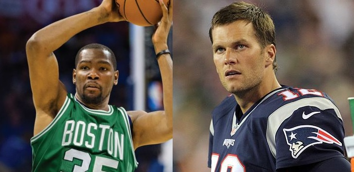 83e52848a060 Tom Brady almost made Kevin Durant sign with Boston