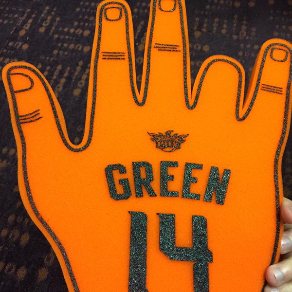 Gerald Green Lost His Finger While Dunking
