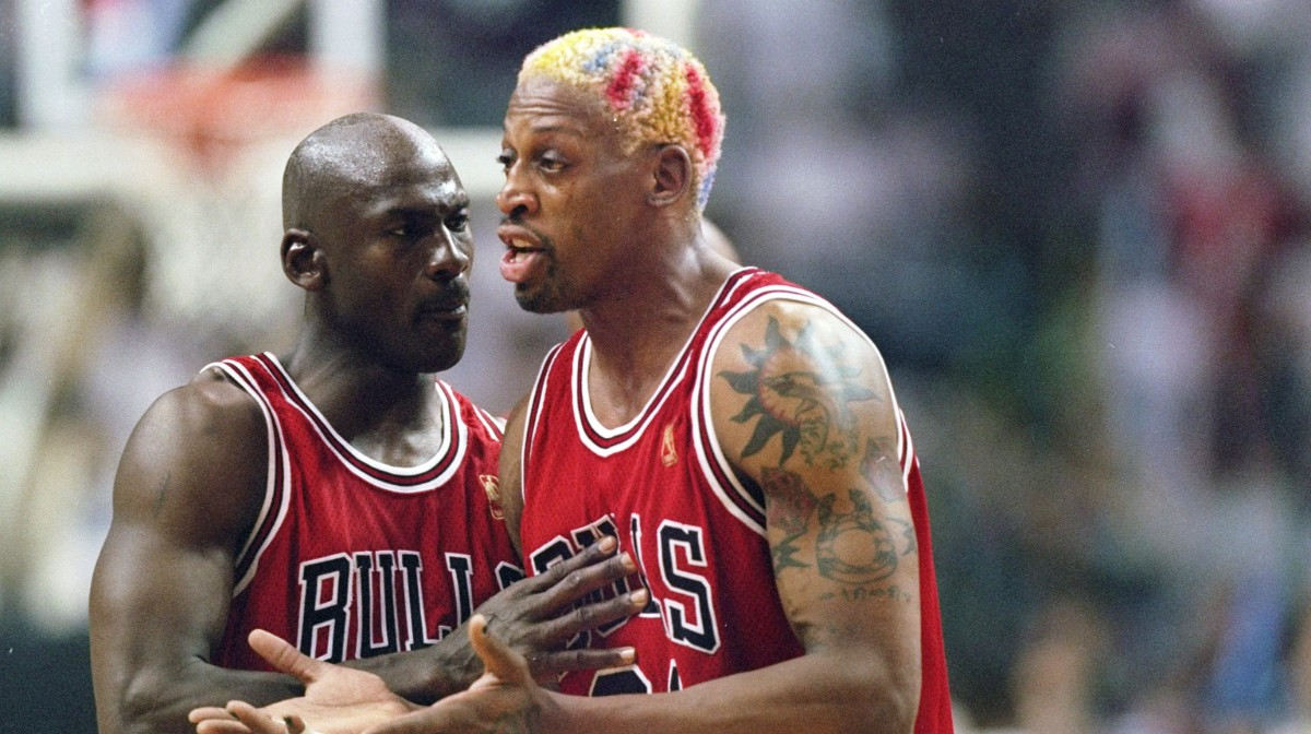 Dennis Rodman Charged With Hit And Run