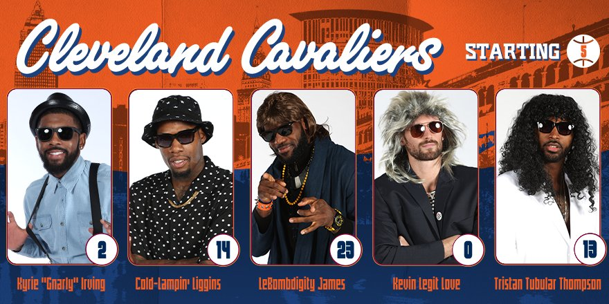Courtesey of: Cleveland Cavaliers / Twitter