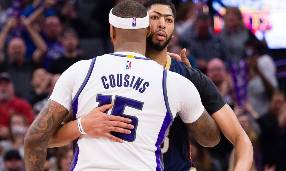 Anthony Davis On DeMarcus Cousins Before The Trade 2154a2e80