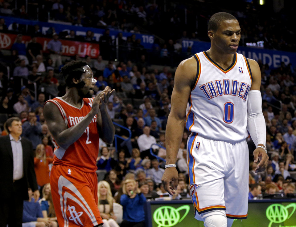 ea5eb6eb7 Russell Westbrook And Patrick Beverley Reveal Amazing Trash-Talk Details
