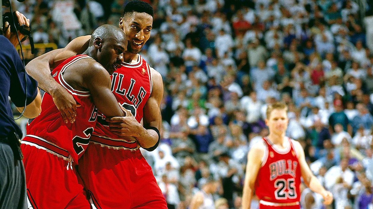 Relive NBA History - Michael Jordan's Flu Game - OpenCourt-Basketball