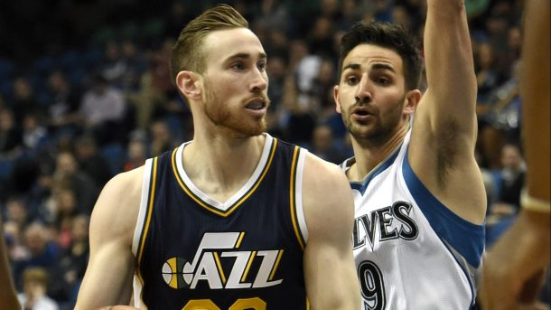 new product 6f6fb a353f Gordon Hayward Apparently Told The Jazz He Wanted To Play ...