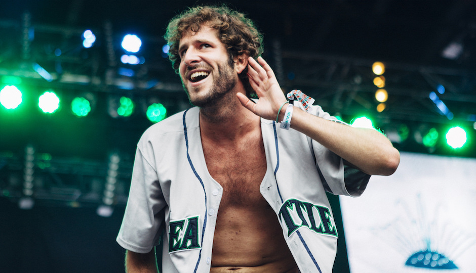 219a79cfad1 UNREAL FOOTAGE! Rapper Lil Dicky Is An Incredibly Good Basketball ...