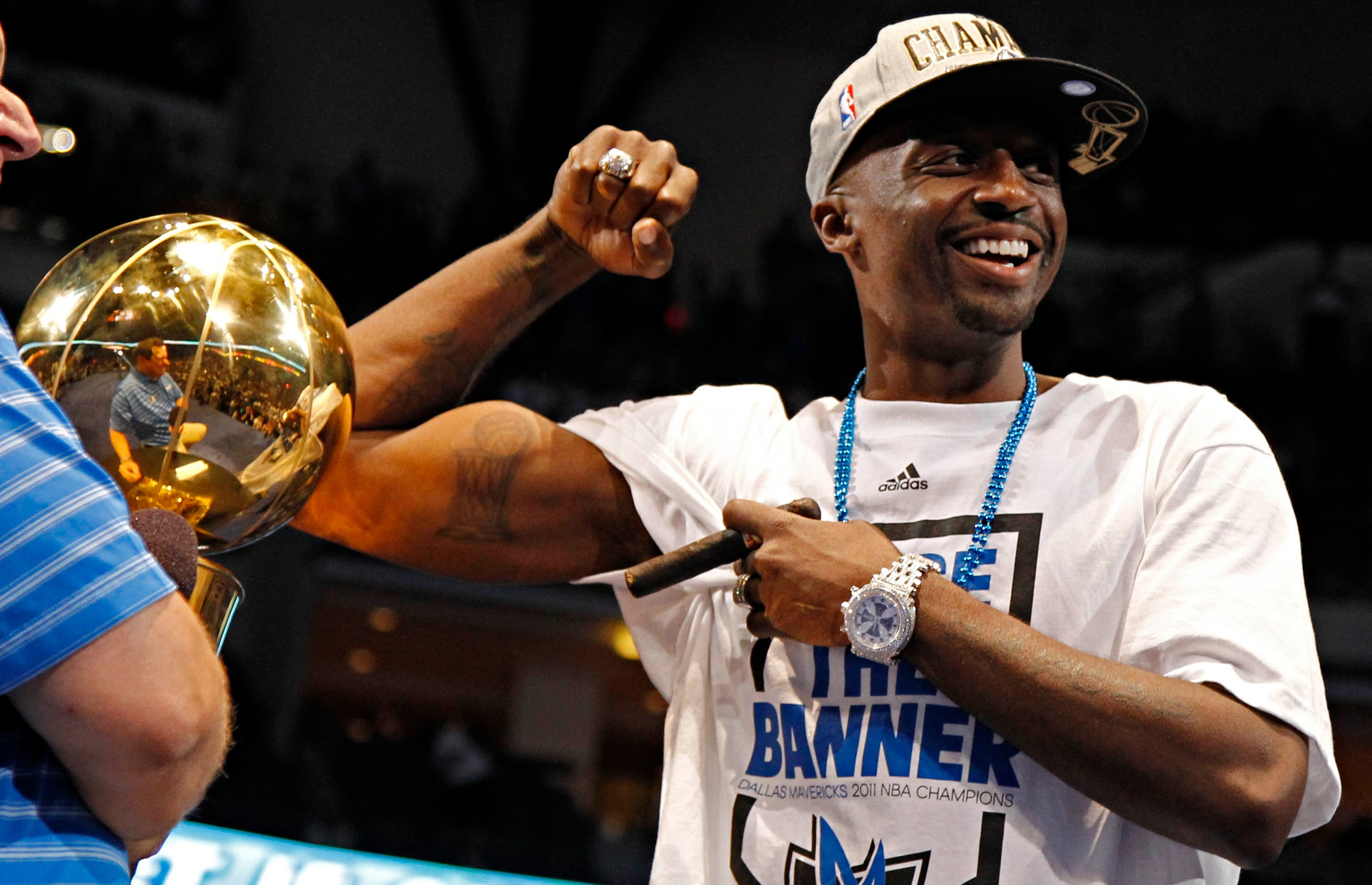 09f09f1a3 Jason Terry Got The Larry O Brien Trophy Tattooed Before The Mavs   Championship Season Started