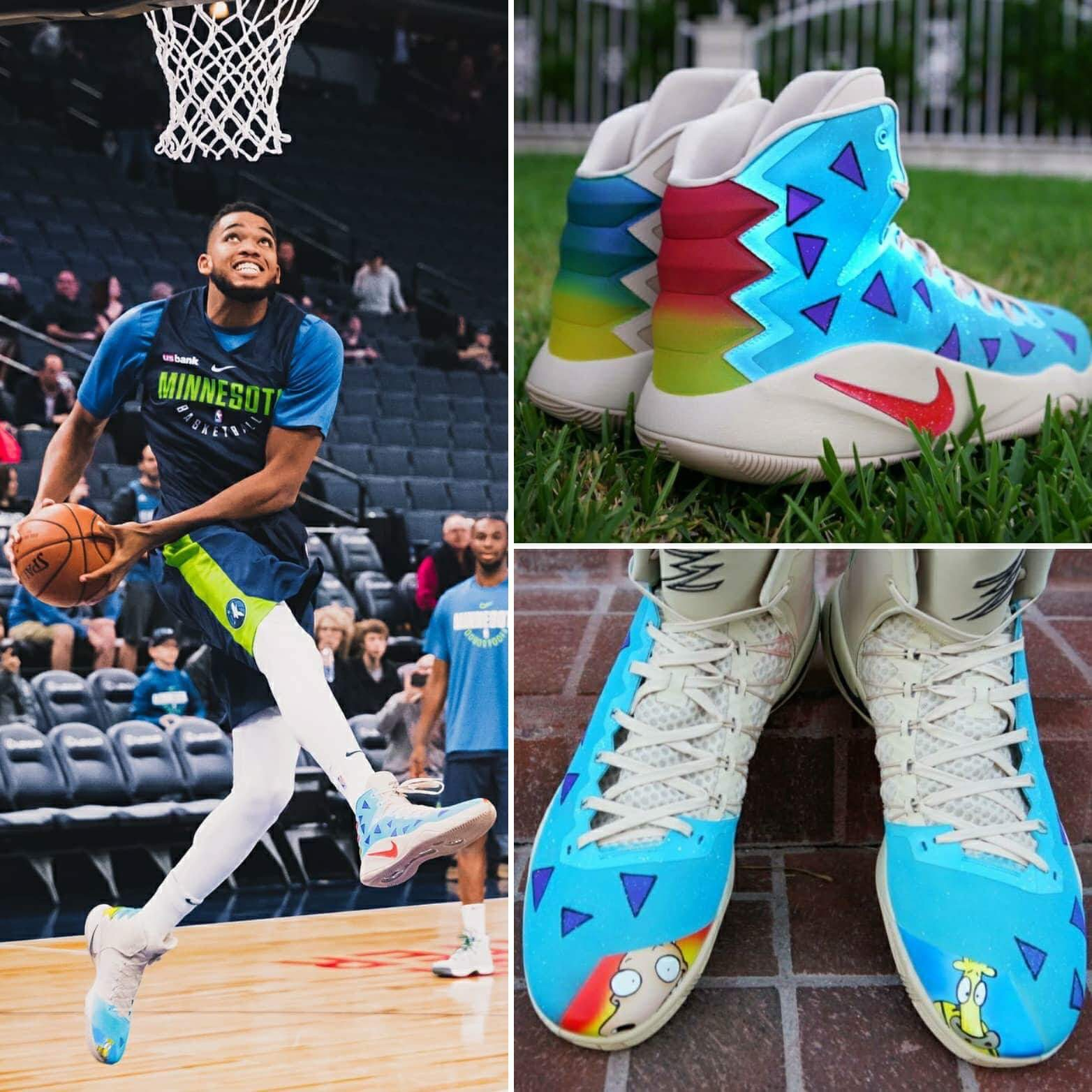 a2ac6541c5928 Customized for Karl-Anthony Towns