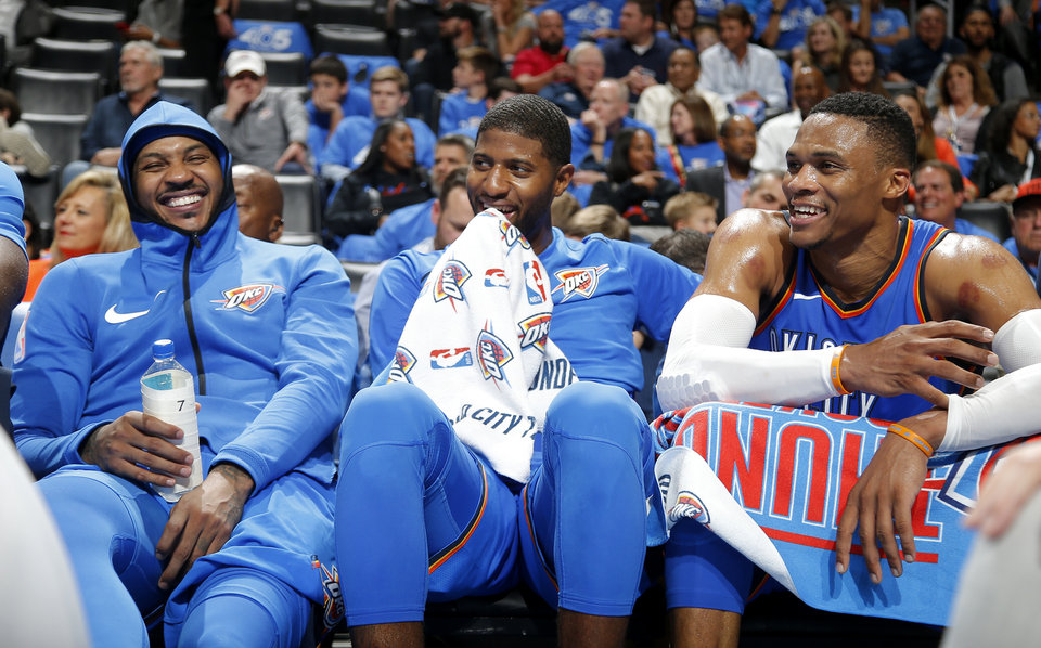 What Is Wrong With The Oklahoma City Thunder Their Big Three