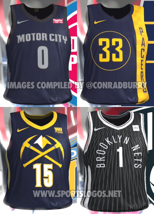 25c950c7b44 NBA 2K18 Accidentally Leaks All The  NBA City Edition  Alternate ...