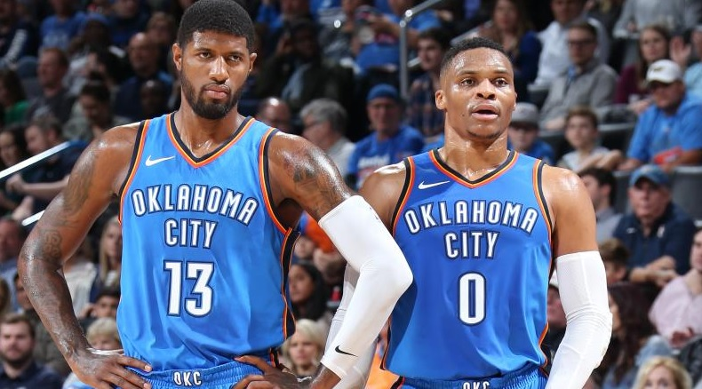 7972cb9e3ae Russell Westbrook Outraged About Paul George Not Making All-Star Team