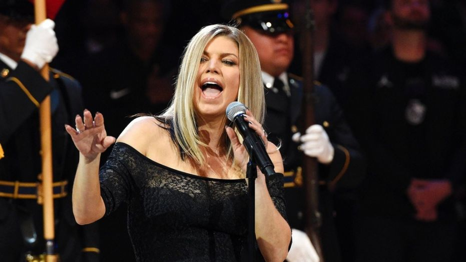DJ Suede Remixed Fergie's National Anthem Rendition And ... Fergie National Anthem Remix