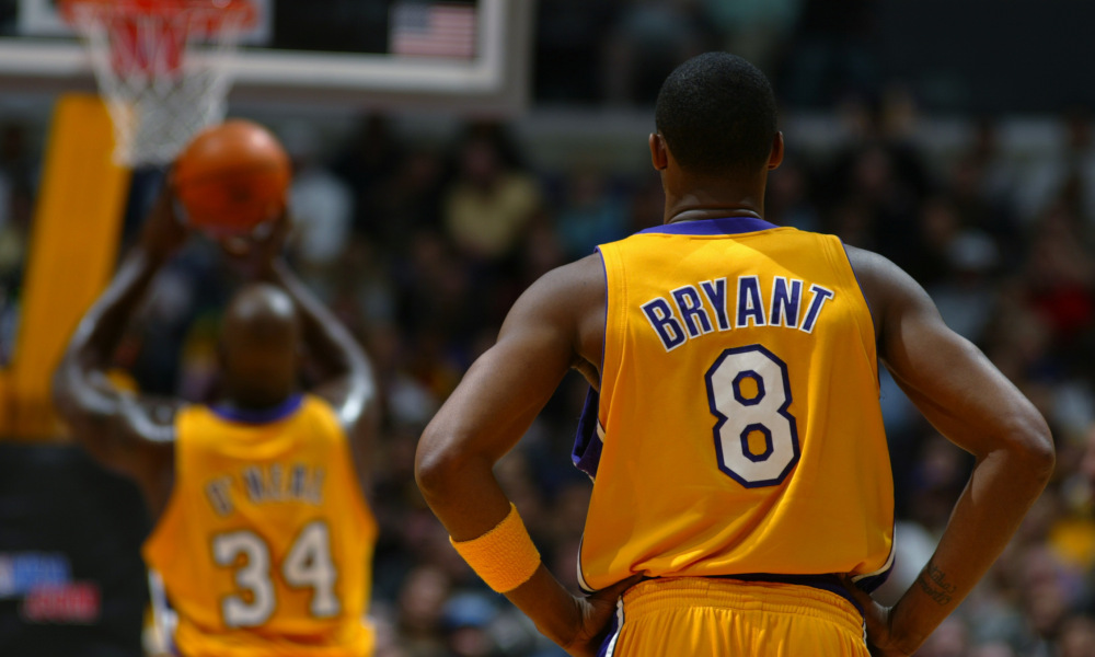 c6e07fc6180 Shaquille O'Neal Once Wore Kobe Bryant's #8 Jersey - OpenCourt ...