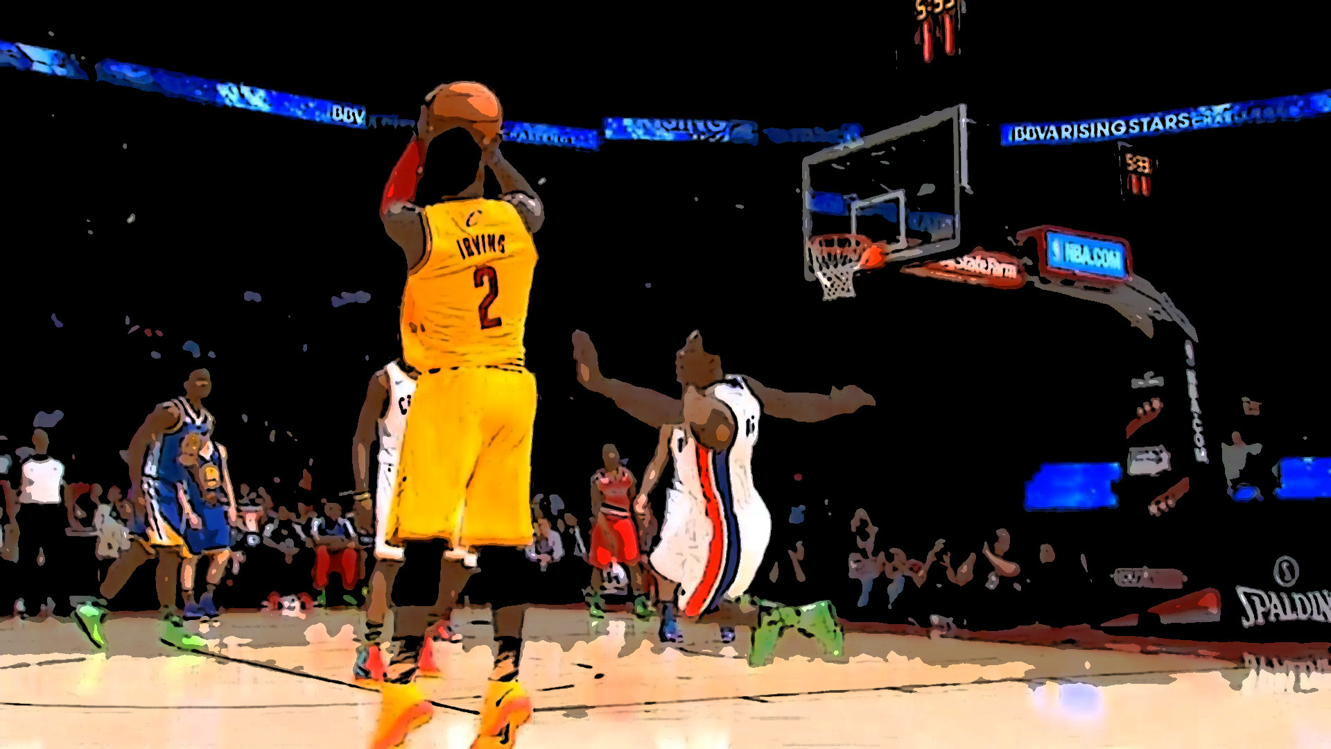 Kyrie Irving's Ankle-Breaking Moves On Brandon Knight!  Kyrie Irving...