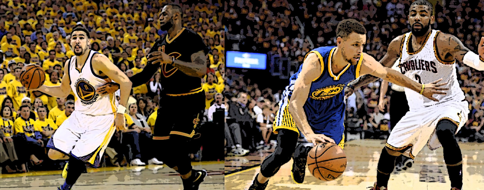 It's on! History in the making - Cavs vs Warriors - Game 7