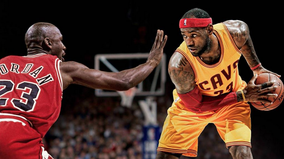 89803458043de LeBron James  Meeting Michael Jordan Was Like Meeting God For The First Time
