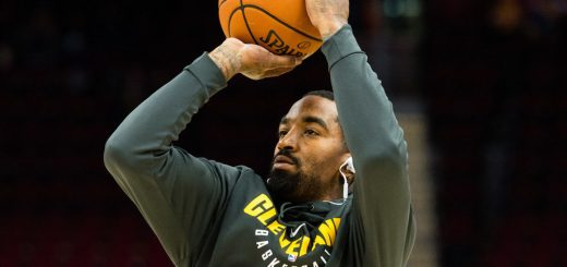 3233405d375 JR Smith s Historic Game 1 Worn Jersey Was Auctioned Off