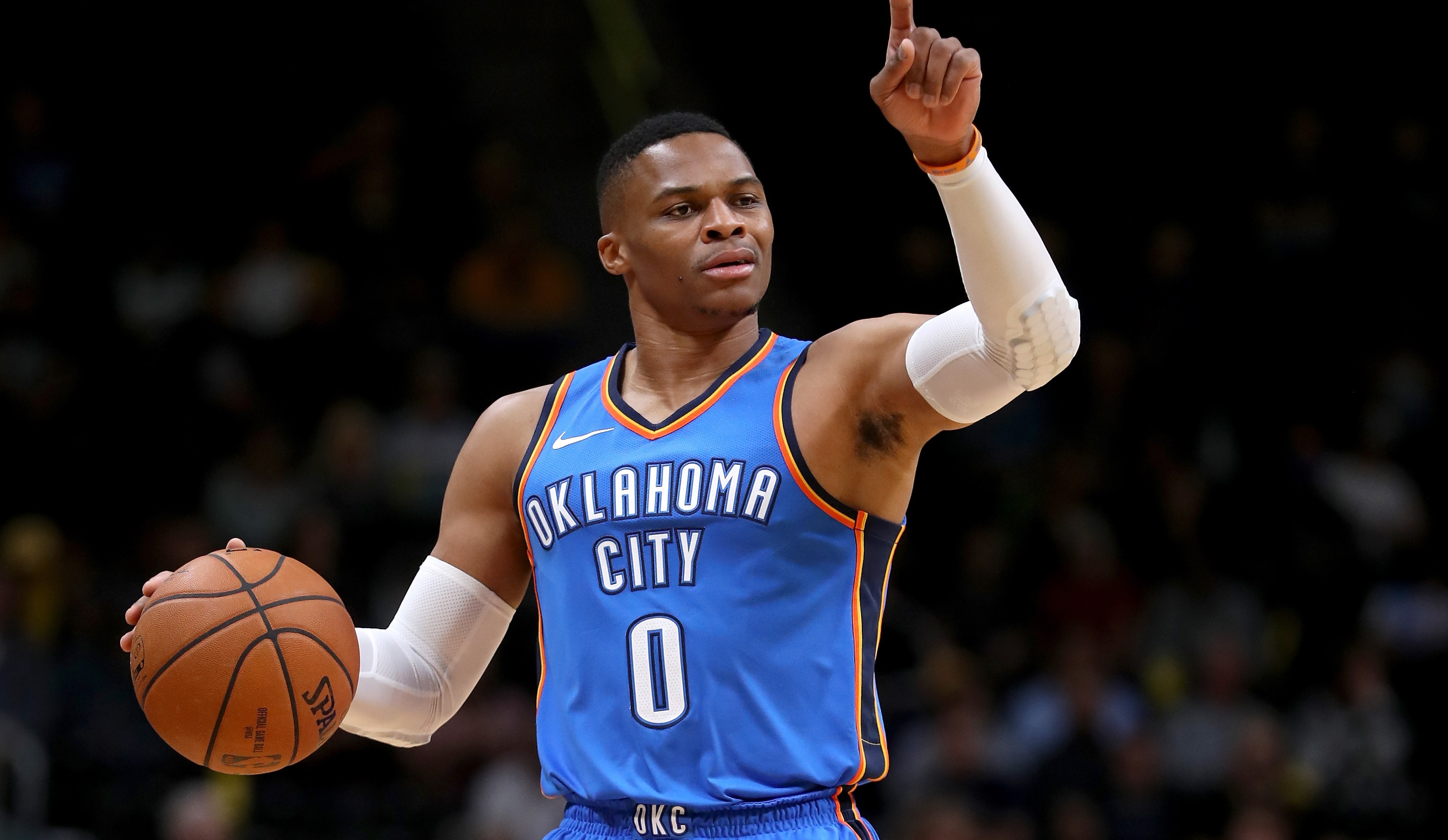 separation shoes f088e 1e5ca Russell Westbrook Wore Oven Mitts To The Game? Time To Get ...