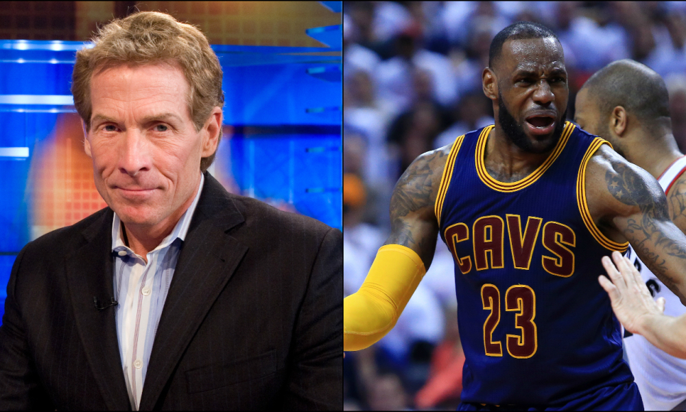 26b73ec30d9 Kevin Hart Confronted Skip Bayless For His LeBron James Hate ...