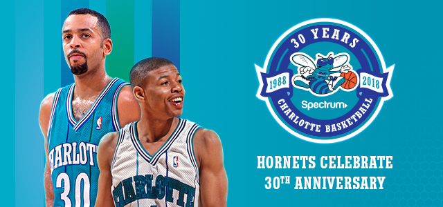 5afe863b96b Charlotte Hornets Reveal Amazing Retro Court To Celebrate Their 30th  Anniversary