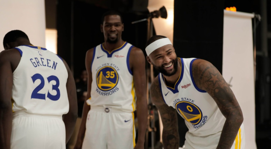 check out 5661d 2b422 Cousins And Durant Fighting Over Who s The Alpha-Warrior
