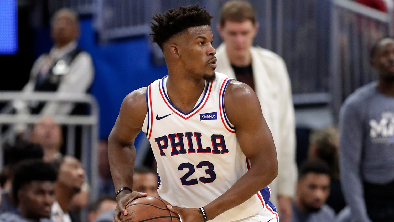 2e301c6af NBA Twitter Reacts To Jimmy Butler Challenging Head Coach Brett Brown