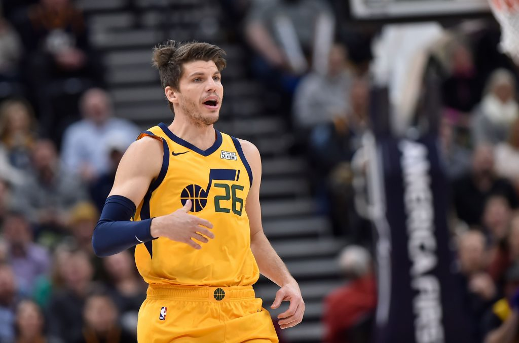 the best attitude a0c2a 1c217 Kyle Korver Had To Laugh At Himself After Huge Brainfart