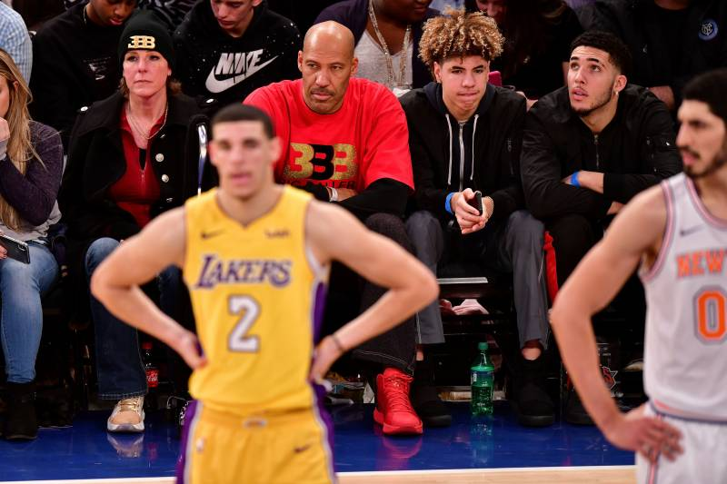ad828e6d59dd LaVar And Lonzo Ball Seem To Have Horribly Staged Their Alan Foster  Conversation For Ball In The Family