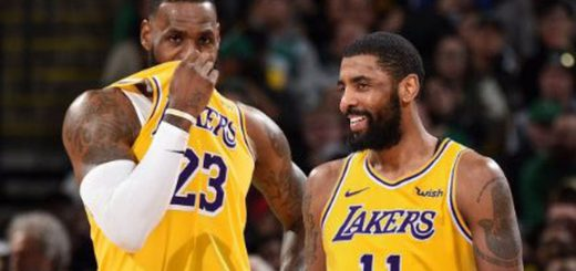 9fdad0c81f3ae Kyrie Irving Already Decked Out In Lakers Gear On His Official NBA 2K  Account