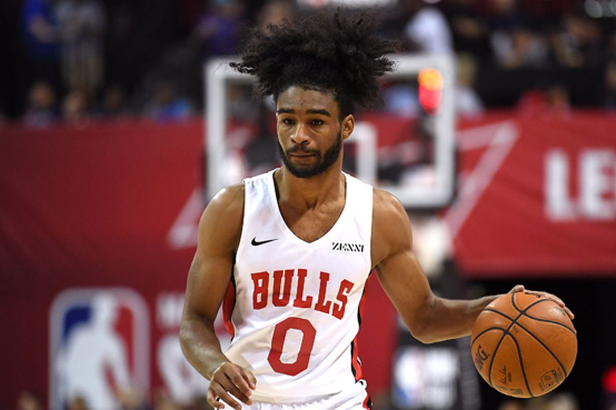 Coby White Wears No. 0 Because Of Mortal Combat