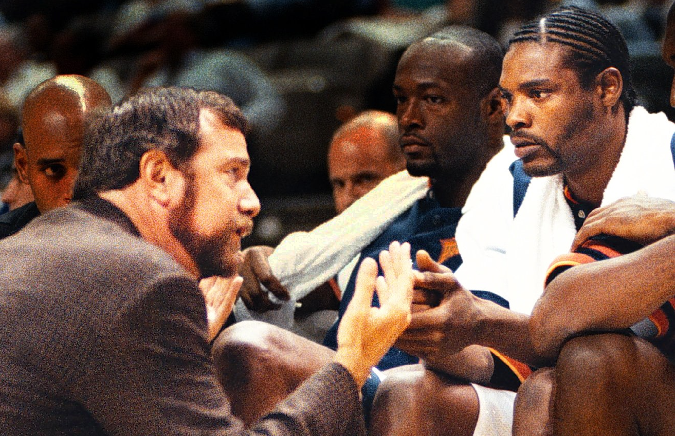 When Latrell Sprewell Attempted To Kill His Coach, PJ Carlesimo, During  Warriors Practice